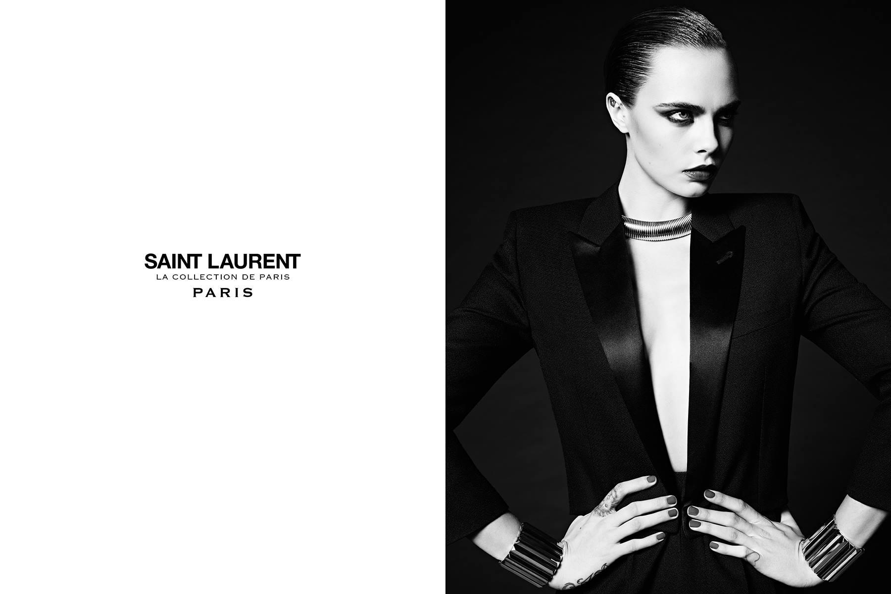 Good bye, Hedi Slimane. Foto: Saint Laurent