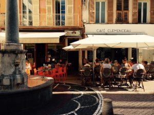 Café Clemenceau. Foto: Frauke Schlieckau